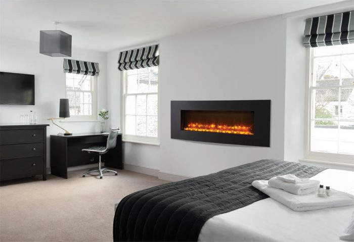 Stovax & Gazco Radiance Inset Verve XS 105R graphite electric fire