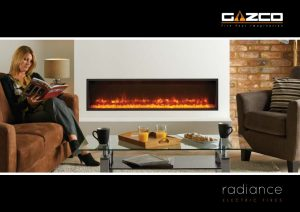 Stovax & Gazco Radiance electric fires brochure