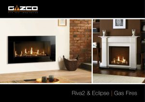 Stovax & Gazco Riva2 and Eclipse gas fires brochure