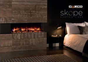 Stovax & Gazco Skope electric fires brochure