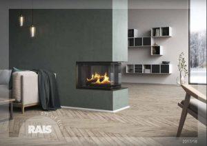 Rais Art of Fire brochure 2017 - 2018 GB cover