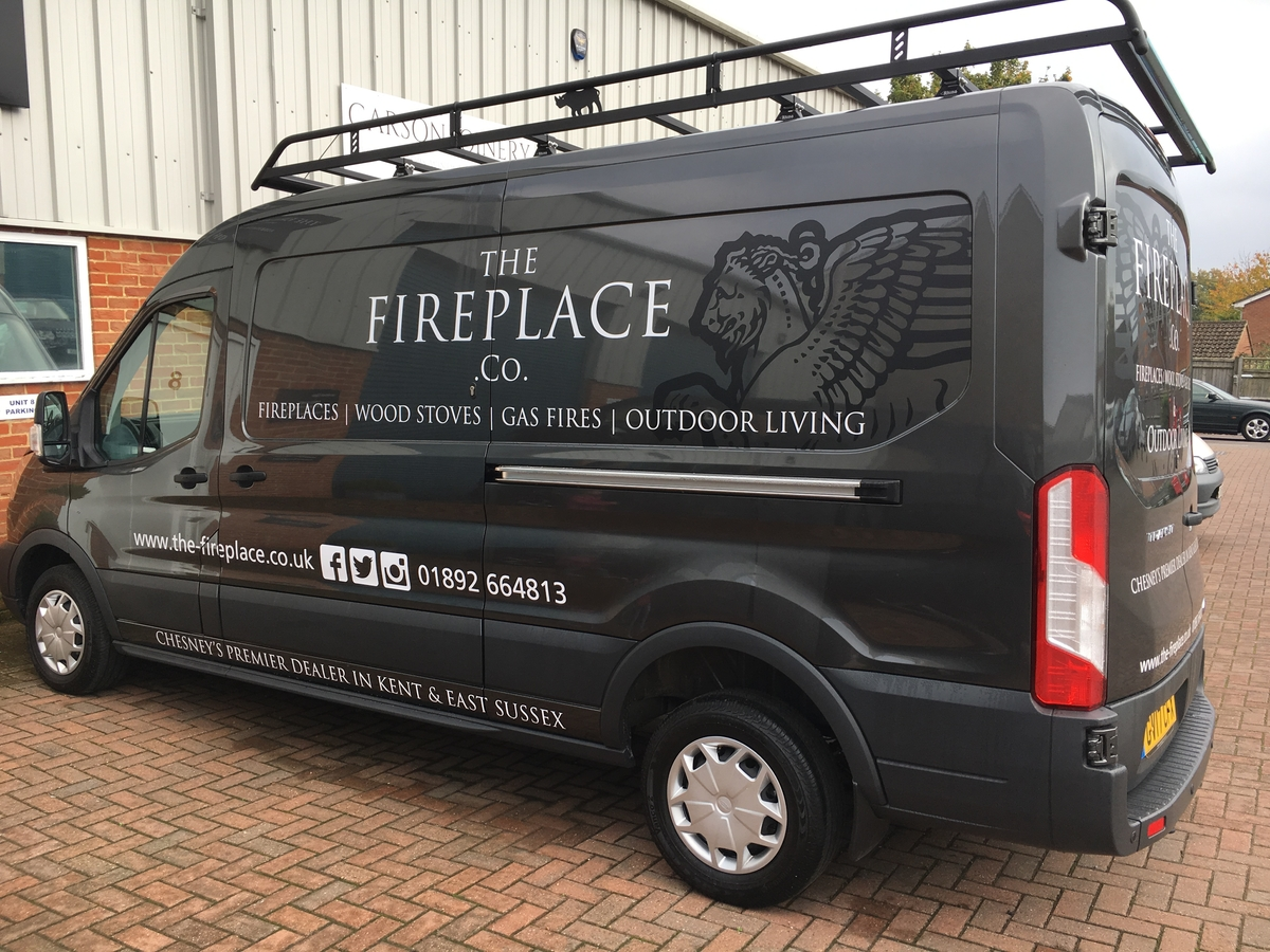 The Fireplace Company van