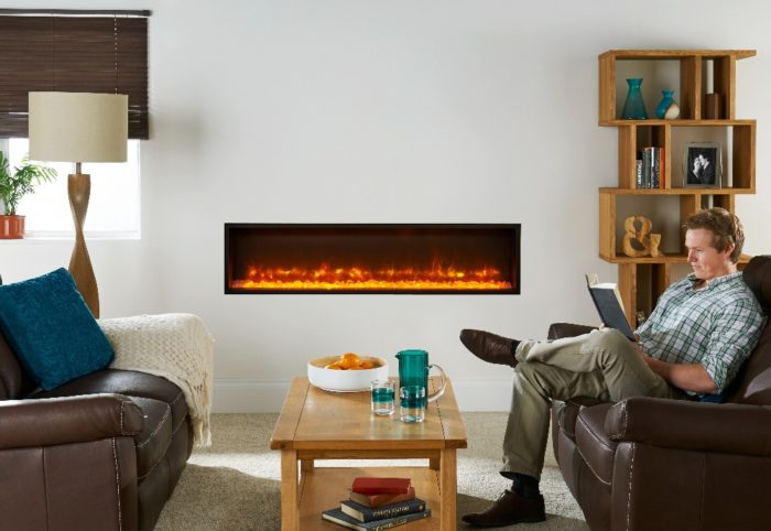 Stovax & Gazco Radiance Inset Edge 135R electric fire