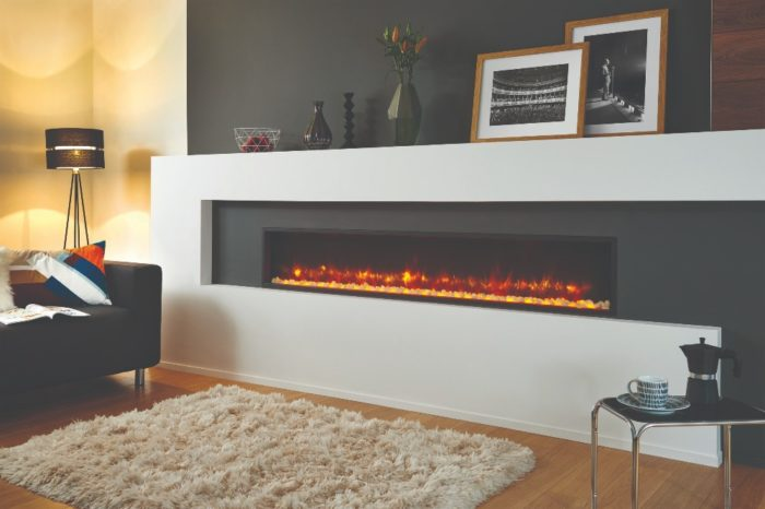 Stovax & Gazco Radiance Inset Edge 195R electric fire