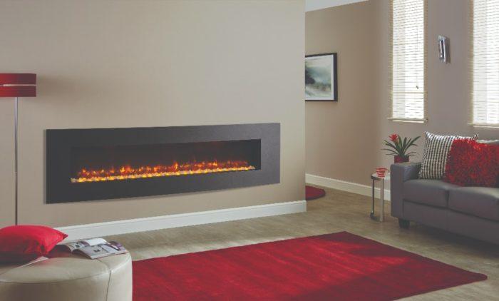 Stovax & Gazco Radiance Inset Verve XS 195R graphite electric fire