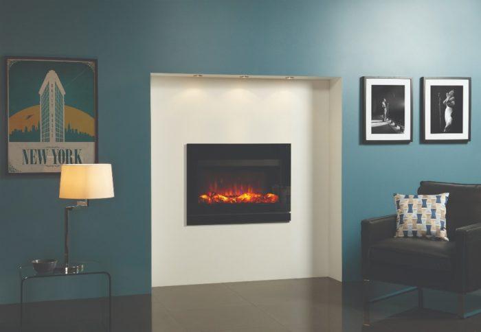 Stovax & Gazco Riva2 670 Designio2 glass electric fire