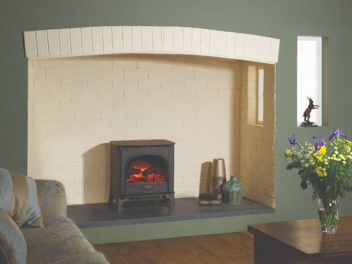 Stovax & Gazco Stockton2 Medium electric stove