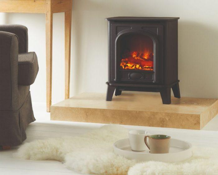 Stovax & Gazco Stockton2 Small electric stove
