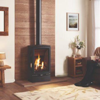 Stovax & Gazco Vogue Midi T gas stove