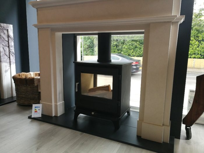 Chesneys Salisbury 10 series double sided wood burning stove