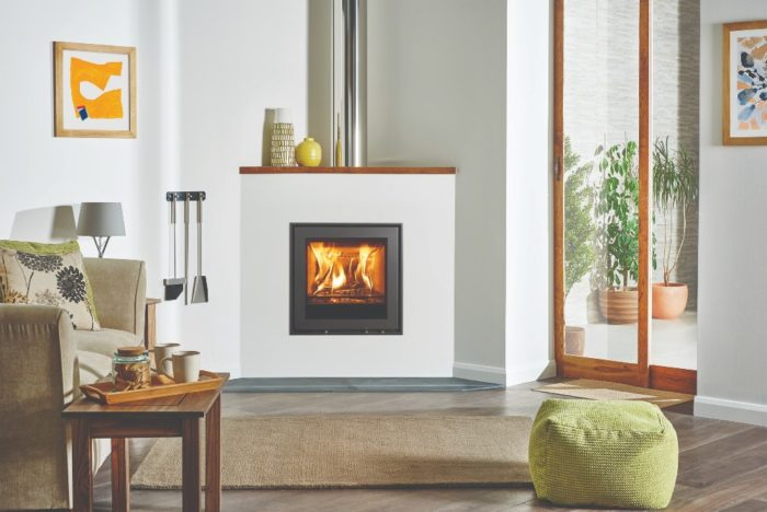 Stovax & Gazco Elise Edge 540 wood burning stove