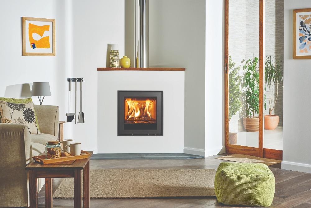 Stovax & Gazco Elise Edge 540 wood burning stove