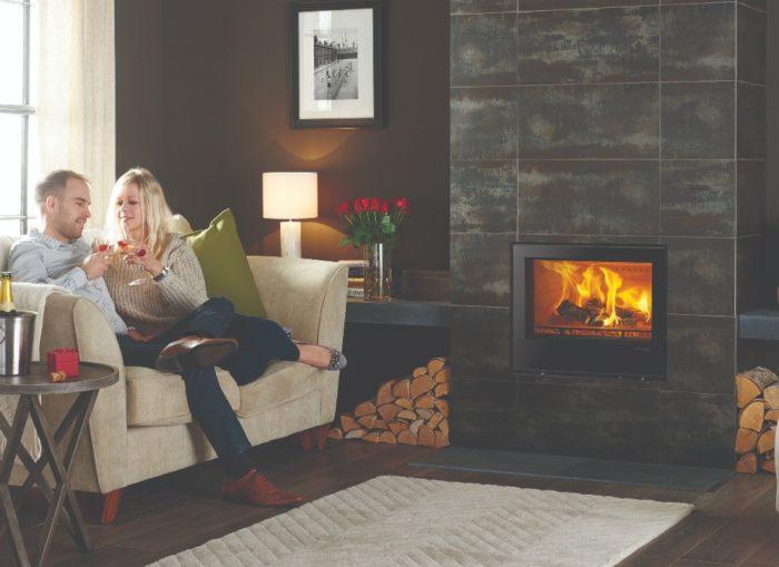 Stovax & Gazco Elise Edge 680 wood burning stove