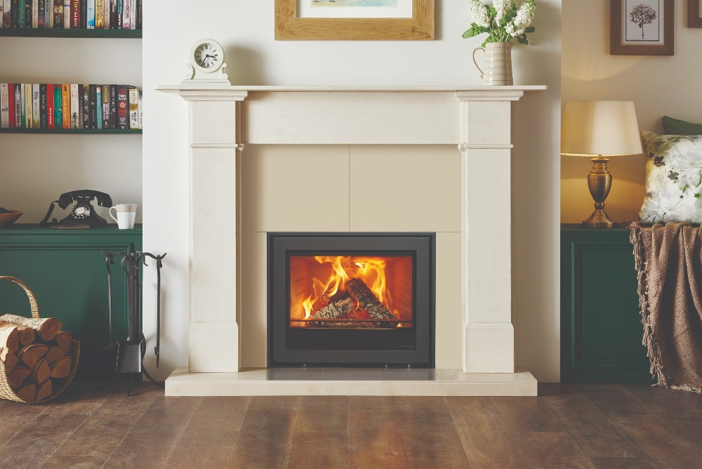 Stovax & Gazco Elise Edge+ 680 wood burning stove