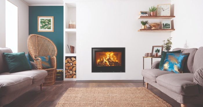 Stovax & Gazco Elise Edge+ 850 wood burning stove
