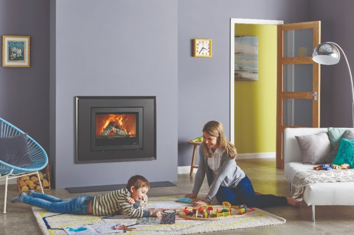 Stovax & Gazco Elise Evoke Steel 680 wood burning stove