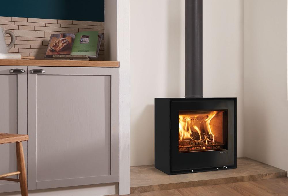 Stovax & Gazco Elise Freestanding 540 wood burning stove
