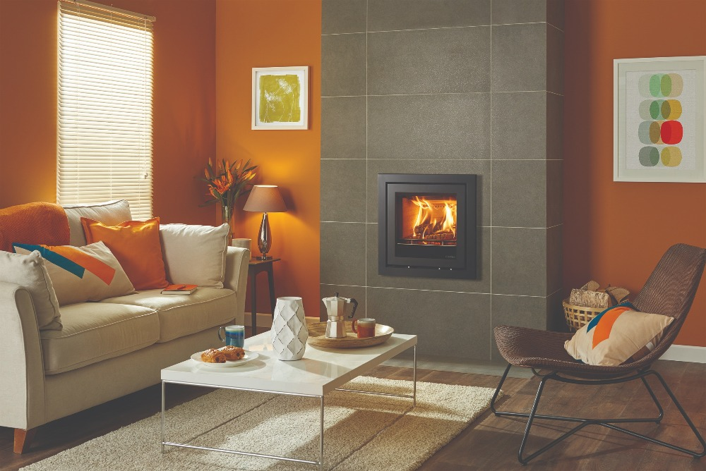 Stovax & Gazco Elise Profil 540 wood burning stove