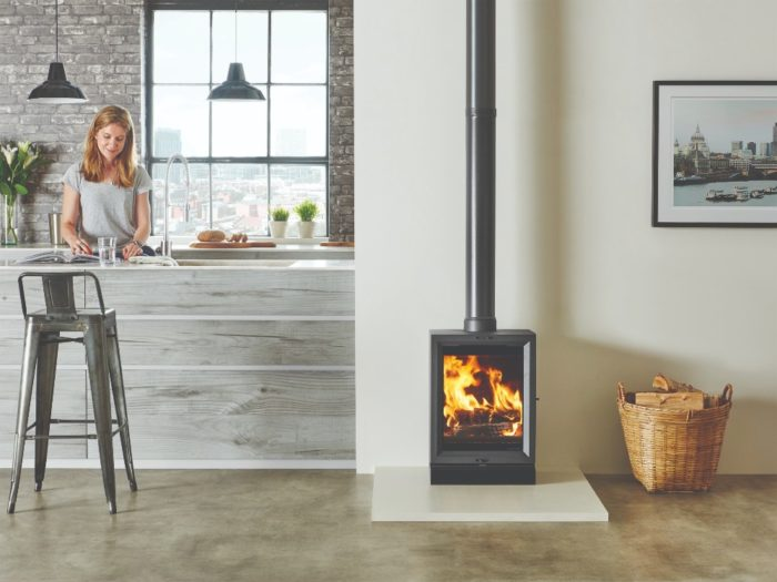 Stovax & Gazco View 5T wood burning stove