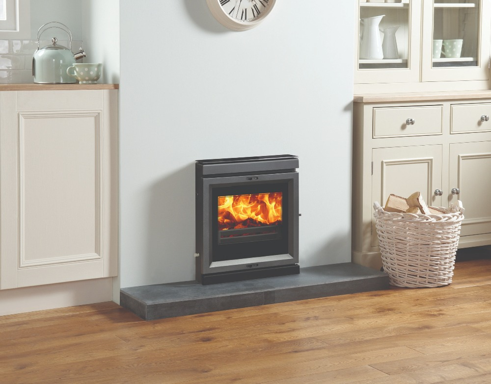 Stovax & Gazco View 7 Inset Convector wood burning stove
