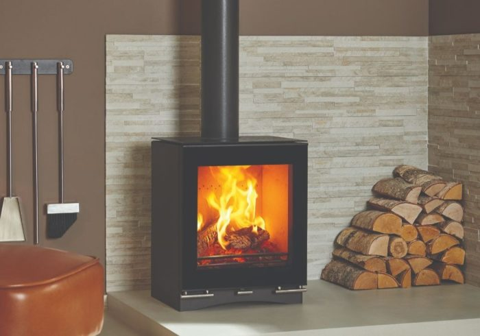 Stovax & Gazco Vision Midi wood burning stove