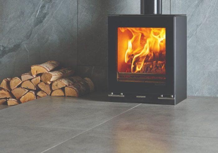 Stovax & Gazco Vision Small wood burning stove