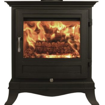 Chesneys Beaumont 8 series wood burning stove in Black Anthracite