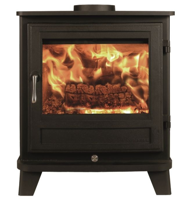 Chesneys Salisbury 8 series wood burning stove in Black Anthracite