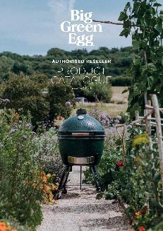 Alfresco Concepts Big Green Egg Reseller Catalogue 2019 cover image