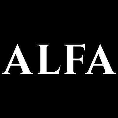Alfa logo white