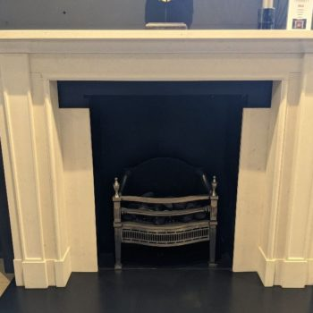 Chesneys Madison fireplace in showroom