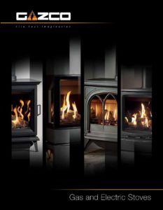 Stovax gas and electric stoves catalogue January 2020 cover