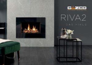 Gazco Riva2 gas fires catalogue January 2020 cover