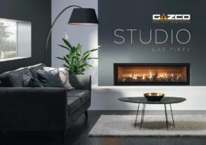 Gazco Studio gas fires catalogue January 2020 cover