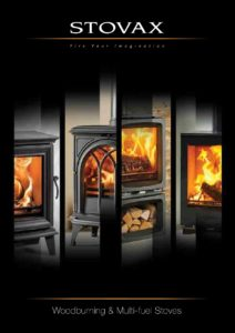 Stovax wood burning and multi-fuel stoves catalogue January 2020 cover