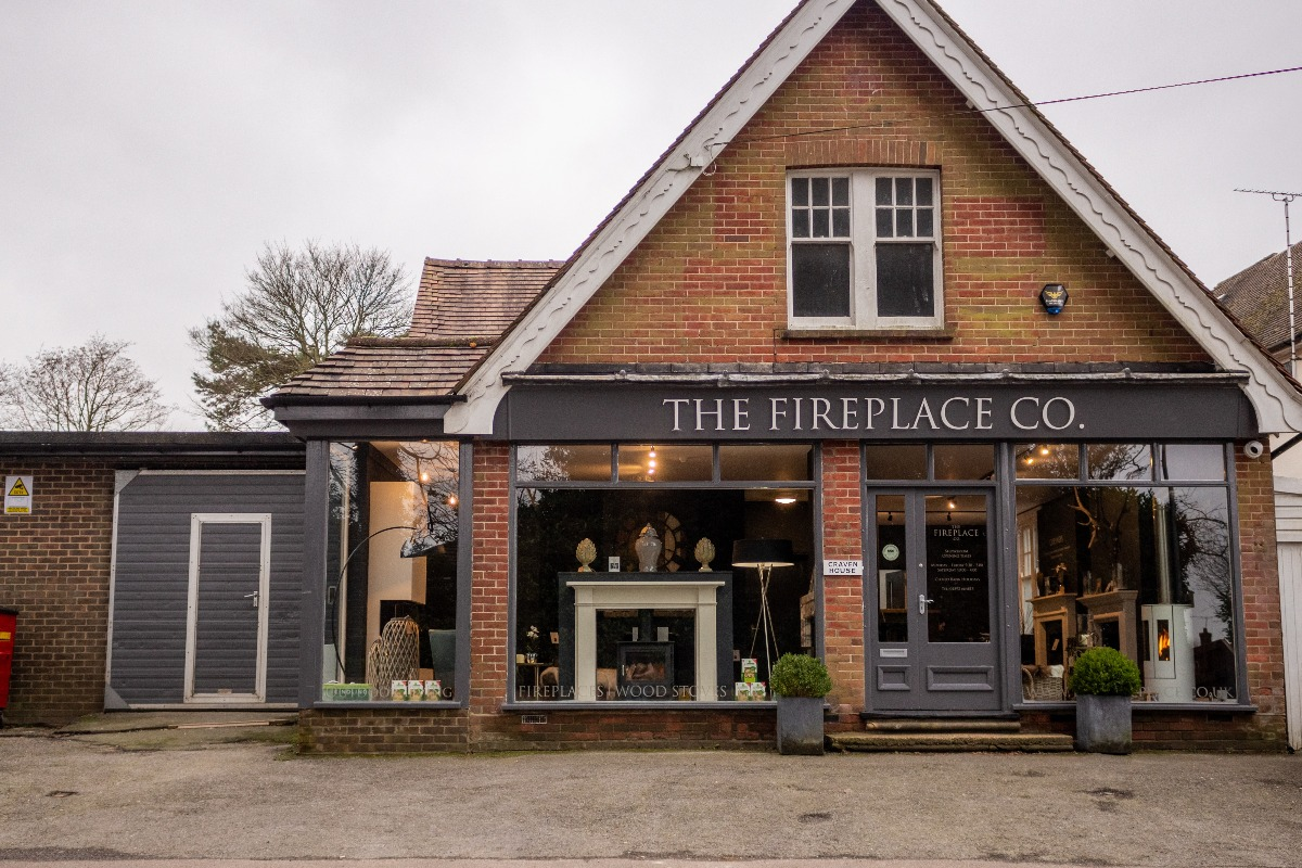 The Fireplace Company Crowborough showroom exterior front