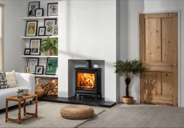 Stovax & Gazco Chesterfield 5 Wide wood burning stove