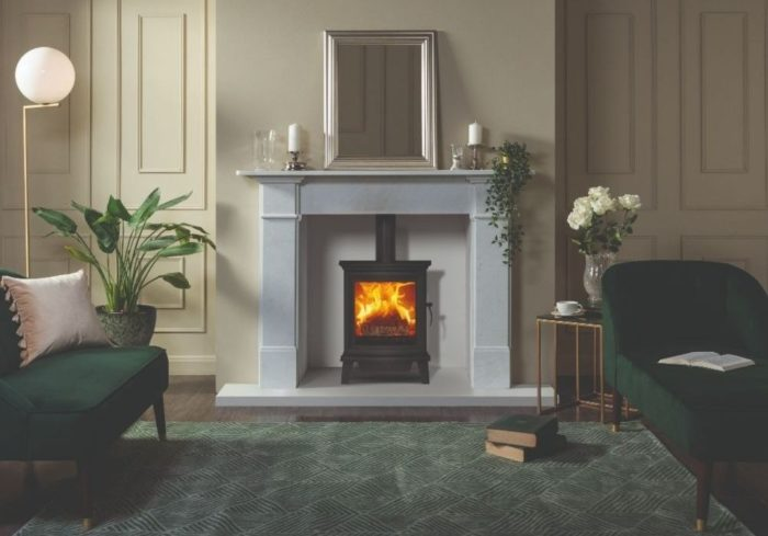 Stovax & Gazco Chesterfield 5 wood burning stove