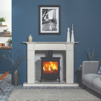 Stovax & Gazco Sheraton 5 Wide wood burning stove