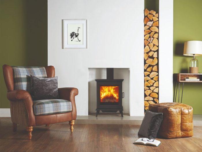Stovax & Gazco Sheraton 5 wood burning stove