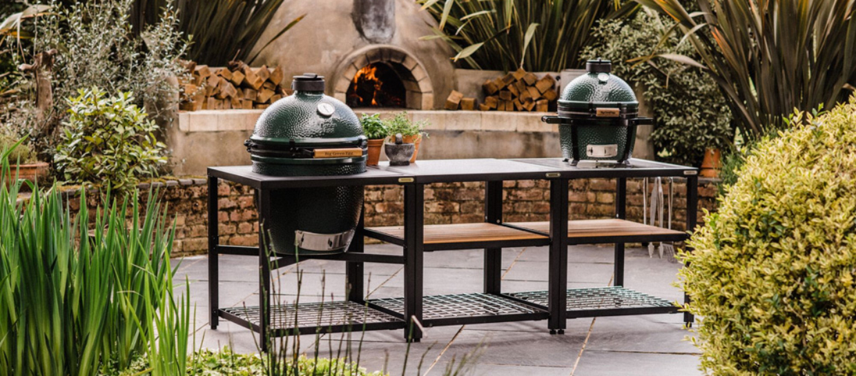 Great bundle deals on Big Green Egg barbecues