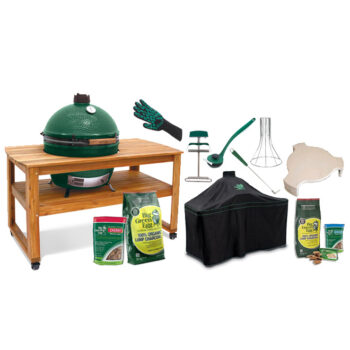 Big Green Egg Extra Large with Acacia Table bundle