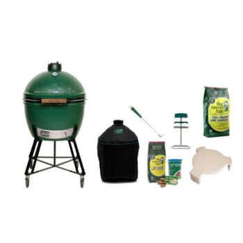 Big Green Egg Extra Large with Metal Nest Handler bundle