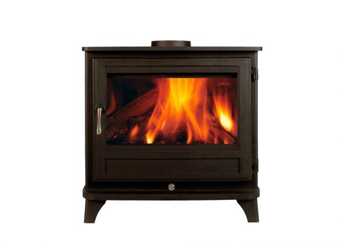 The Salisbury 12KW Wood Burning Stove – The Fireplace Company, Crowborough, 2