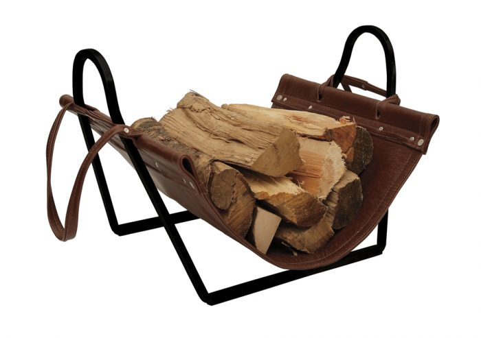 Chesneys Fire Tools Log Holder Broughton Log Holder Black Main