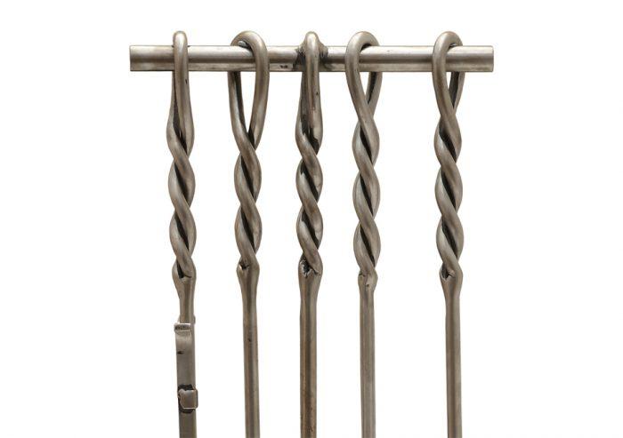 Chesneys Fire Tools Log Holder Pennine Fire Tool Set Detail 1