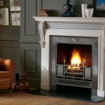 Chesneys Chillington fireplace with the Chamberlain register grate