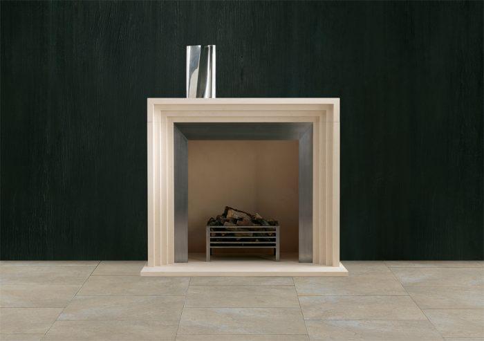Chesneys Gaumont fireplace and Osborne fire basket