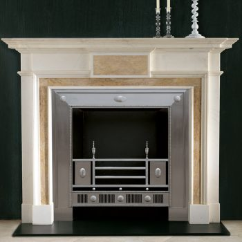 Chesneys Athenian fireplace with the Hardwick register grate