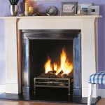 Chesneys Thomas Hope fireplace with the Byron freestanding fire basket
